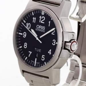 Oris BC3 Sportsman Day Date stainless steel Ref. 0173576414164-0782203