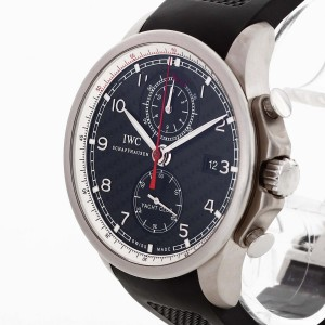 IWC Yachtclub Volvo Ocean Race titanium with rubber strap Ref. IW390212