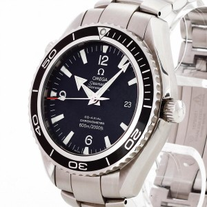 Omega Seamaster Planet Ocean Edelstahl Co-Axial Ref. 22005000