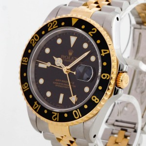 Rolex Oyster Perpetual GMT-Master II 18 K Gelbgold / Edelstahl Ref. 16713
