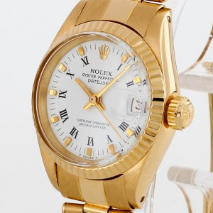 Rolex Oyster Perpetual Lady Datejust 18 K Gelbgold Ref. 6917