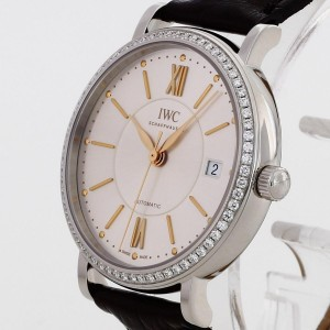 IWC Portofino Midsize stainless steel with diamonds Ref. IW458103