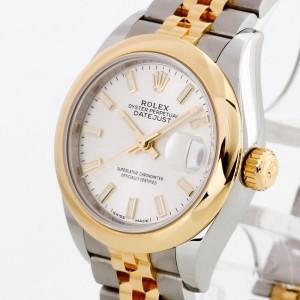 Rolex Oyster Perpetual Datejust Lady Edelstahl/18 K Gelbgold Ref. 279163