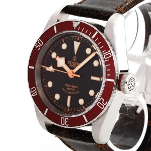 Tudor Black Bay an Lederband Ref. 79220R
