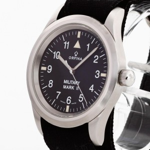 Orfina Military Mark II stainless steel Ref. 6190