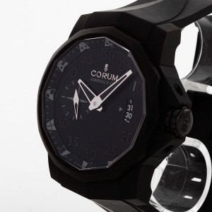 Corum Admirals Cup stainless steel PVD coated Ref. 01.0068