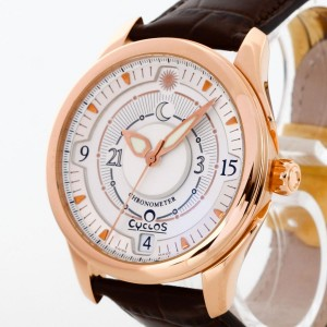 Cyclos Day&Night Parity 18K Rosegold, automatic