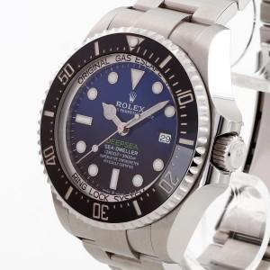 Rolex Oyster Perpetual Deepsea Blue Ref. 126660 Fullset 2018