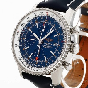 Breitling Navitimer World with leather strap Ref. A2432212