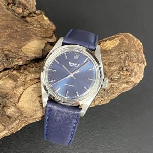 Rolex Oyster Precision an blauem Lederband Ref. 6426