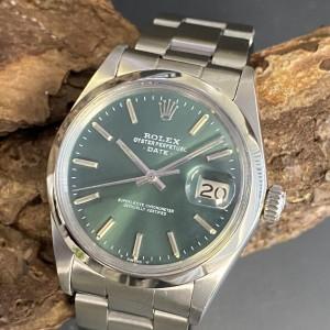 Rolex Oyster Perpetual Date Edelstahl Ref. 1500