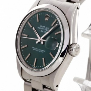 Rolex Oyster Perpetual Date stainless steel Ref. 1500