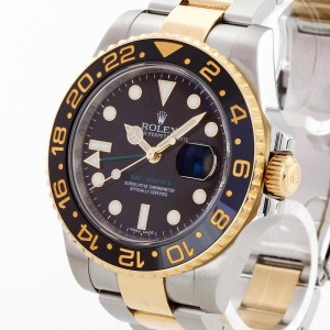 Rolex Oyster Perpetual GMT-Master II Edelstahl/Gelbgold Ref.116713LN