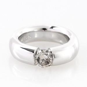 Ring 950 platinum with diamond 1 ct.