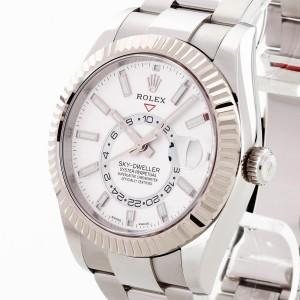 Rolex Sky-Dweller Edelstahl ungetragen Ref. 326934