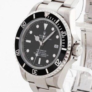 Rolex Oyster Perpetual Sea-Dweller Edelstahl Ref. 16600 LC100 Full-Set