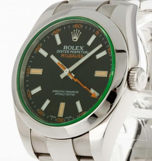 Rolex Oyster Perpetual Milgauss GV Ref. 116400GV LC100