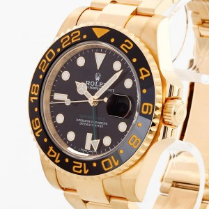 Rolex Oyster Perpetual GMT-Master II aus 750 Gelbgold Ref. 116718LN