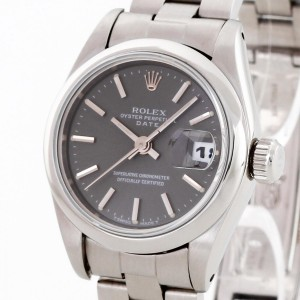 Rolex Oyster Perpetual Date Lady Edelstahl Ref. 69160