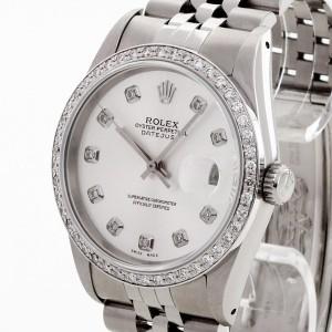 Rolex Oyster Perpetual Datejust mit Diamanten Ref. 16200