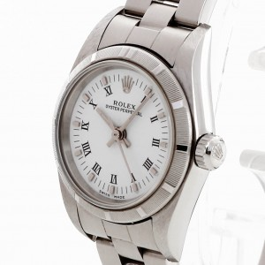 Rolex Oyster Perpetual Edelstahl Ref. 76030