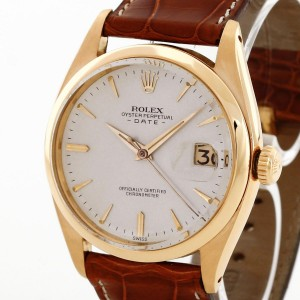 Rolex Oyster Perpetual Date Vintage Ref. 6534