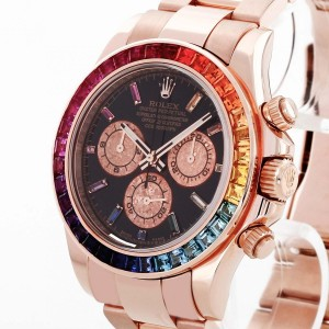 "Rolex Oyster Perpetual Daytona Chronograph ""Rainbow"" (After-Market) Ref. 116505"