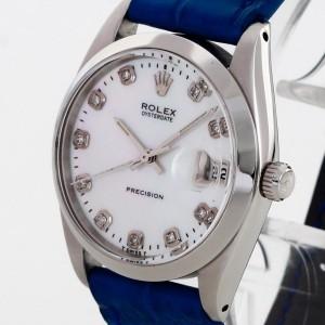 Rolex Oysterdate Precision Edelstahl Ref. 6694