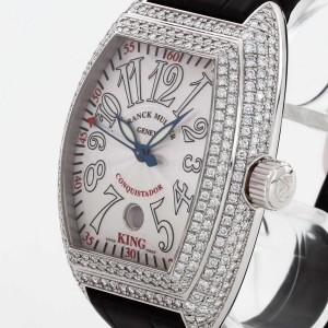Franck Muller Master of Complications Conquistador 8005 K SC with Diamonds (after-market)