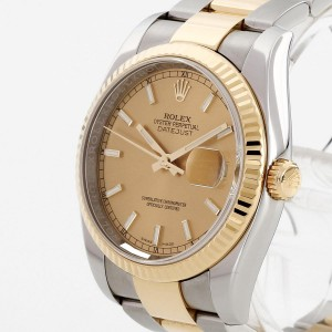 Rolex Oyster Perpetual Datejust 36 Ref. 116233 LC100