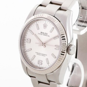 Rolex Oyster Perpetual 36 stainless steel / white gold Ref. 116034