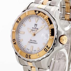 Tudor Prince Date Hydronaut Automatik Gold Edelstahl Ref. 85193