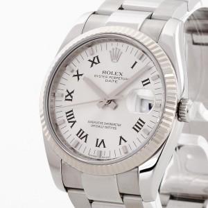 Rolex Oyster Perpetual Date aus Edelstahl Ref. 115234 Fullset