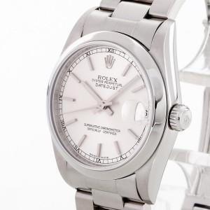 Rolex Oyster Perpetual Datejust Medium aus Edelstahl Ref. 78240