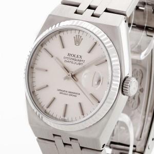 Rolex Oysterquartz Datejust 36 stainless steel Ref. 17014, CC100
