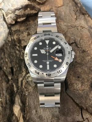 Rolex Oyster Perpetual Date Explorer II Black Ref. 216570