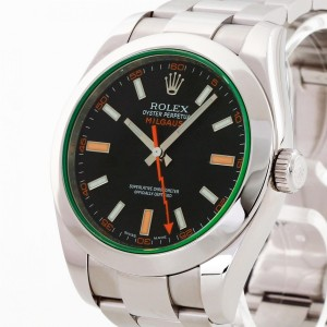 Rolex Oyster Perpetual Milgauss Edelstahl Ref. 116400GV
