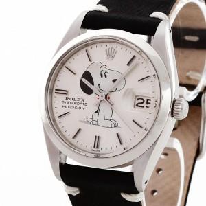 """Rolex Oysterdate Precision Date""""Snoopy"""" Ref. 6694 von 1977"""