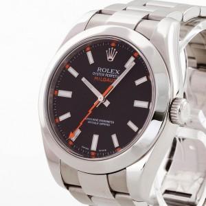 Rolex Oyster Perpetual Milgauss aus Edelstahl Ref. 116400