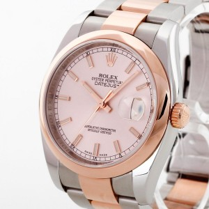 Rolex Oyster Perpetual Datejust 36mm Stahl / Roségold Ref. 116201