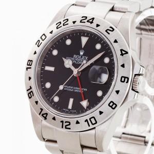 Rolex Oyster Perpetual Date Explorer II Black Ref. 16570 letzte Serie