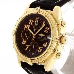 Breitling Chronomat 18k yellowgold FULLSET Ref. K13050.1