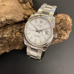 Rolex Oyster Perpetual Date Edelstahl Ref. 115200