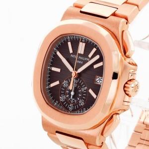 Patek Philippe Nautilus Chronograph 18 K Roségold Ref. 5980/1R-001