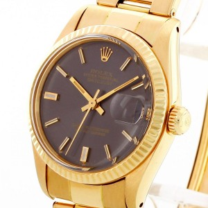 Rolex Oyster Perpetual Datejust 18 K Gelbgold Ref. 6827