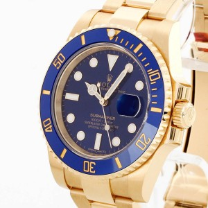 Rolex Oyster Perpetual Submariner 18 K Gelbgold Ref. 116618LB