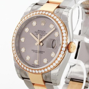 Rolex Oyster Perpetual Datejust 36 Stahl / Gold Ref. 116243