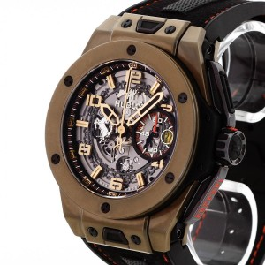 Hublot Big Bang Ferrari Unico Magic Gold Limited Edition Ref.401.MX.0123.GR