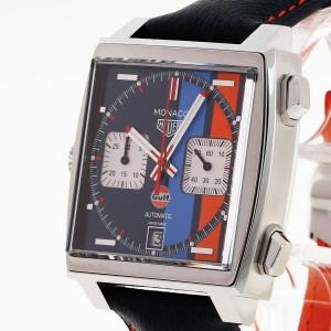 Tag Heuer Monaco Gulf Chronograph Ref. CAW211R