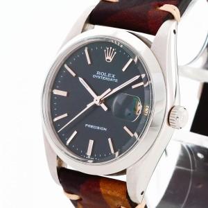 Rolex Oysterdate Precision an Lederband Ref. 6694